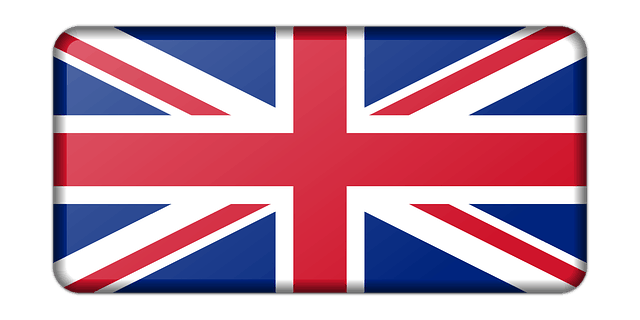 UK flag drop-down