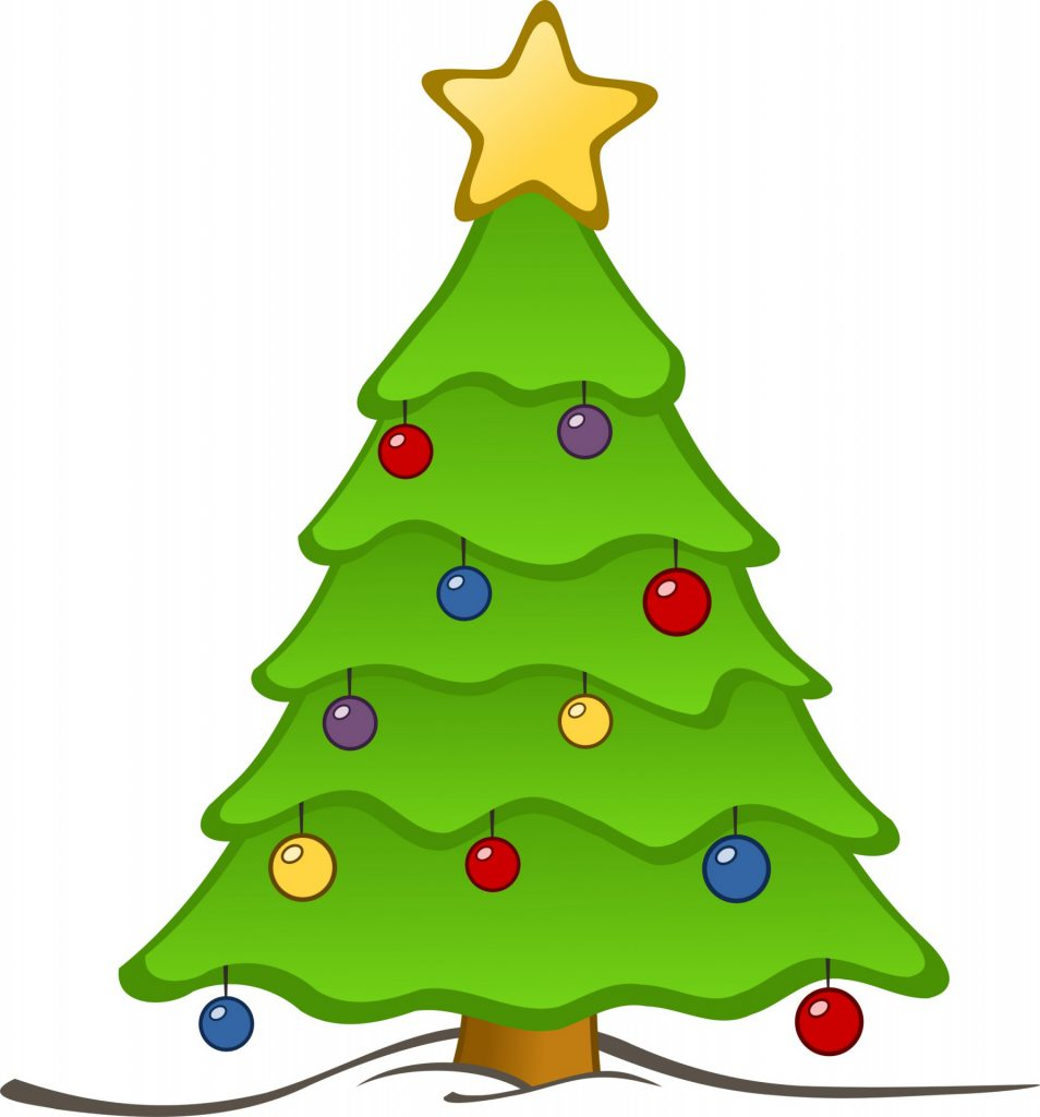 Christmas Tree Festive Image