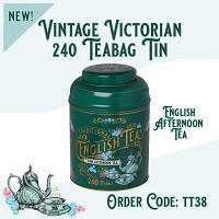 New English Tea Vintage Victorian 240 Fine Afternoon Teabags