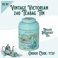 New English Tea Vintage Victorian 240's Fine Breakfast Teabags