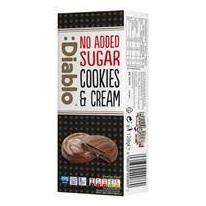 :Diablo No Added Sugar Cookies and Cream Choc