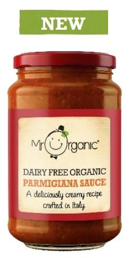 Mr Organic Dairy Free Organic Parmigiana Sauce