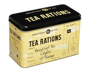 New English Tea Tea Rations