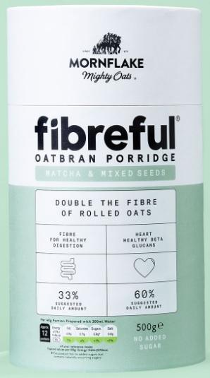Fibreful Oatbran Porridge Matcha