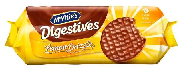 Digestives Lemon Drizzle