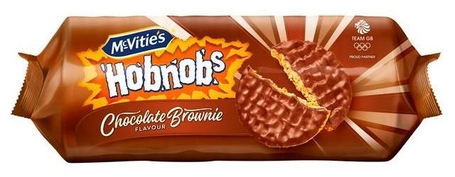 Hobnobs Chocolate Brownie