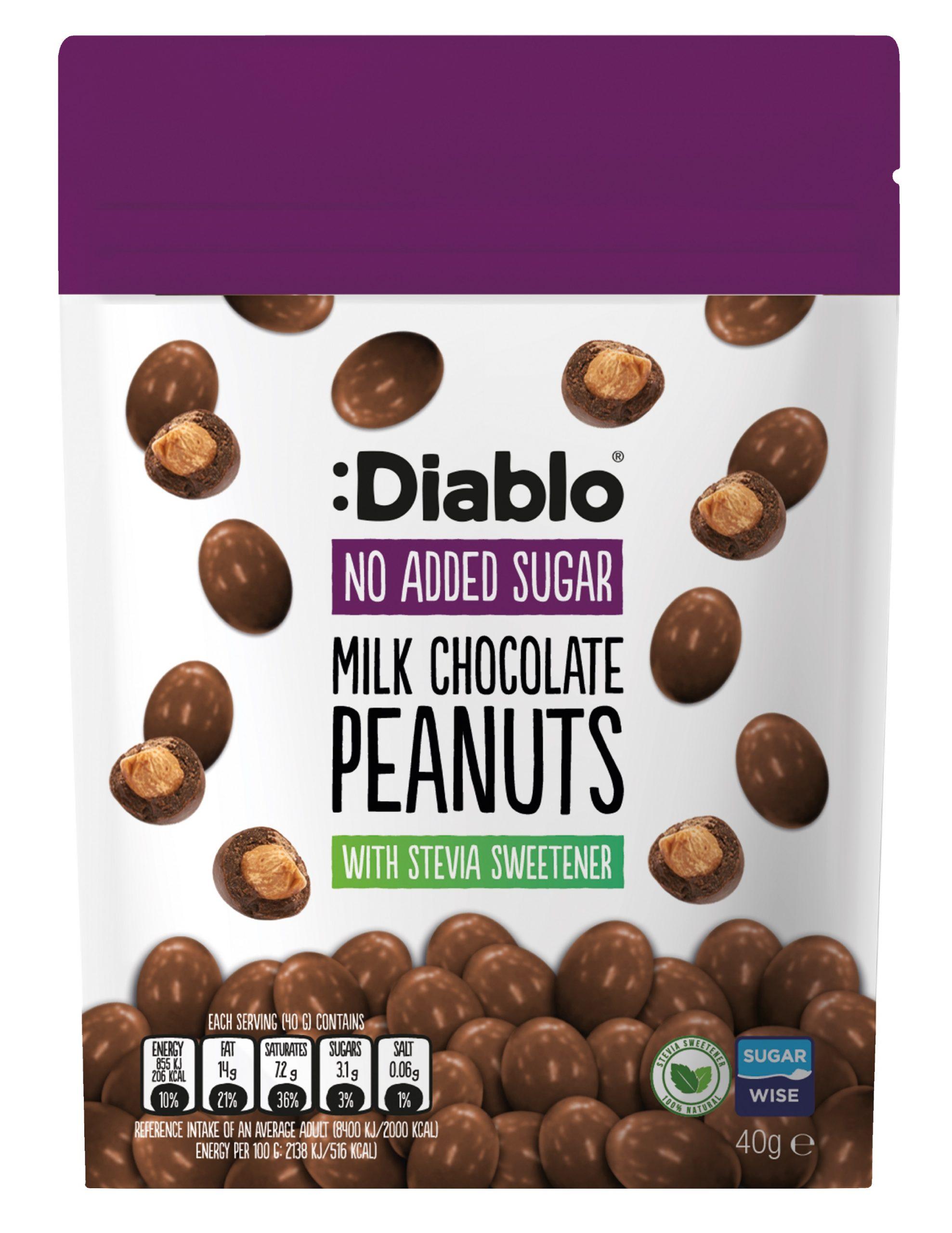 Diablo NAS Milk Choc Peanuts