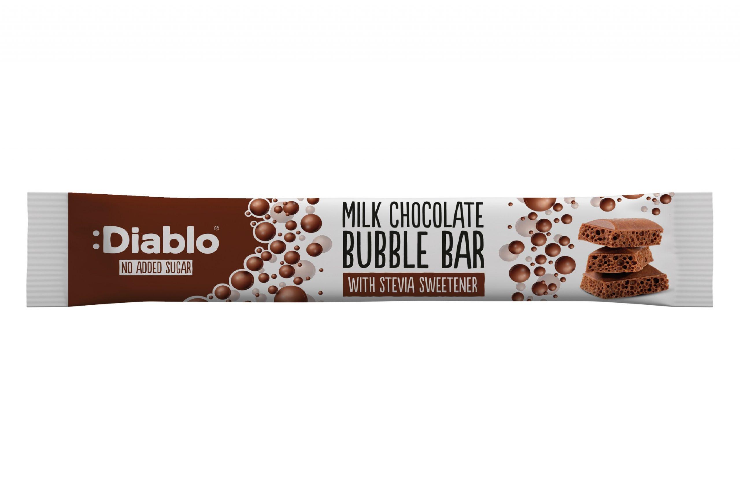 Diablo NAS Milk Chocolate Bubble Bar