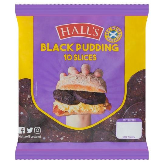 Hall's Black Pudding Slices